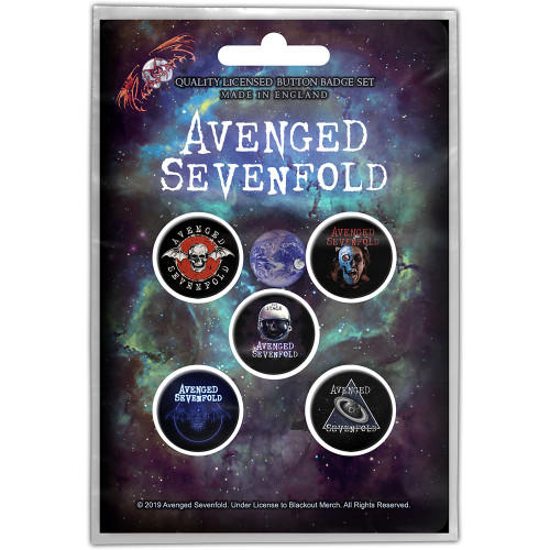 Avenged Sevenfold The Stage Button Badge Pack