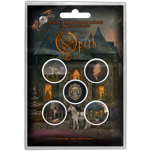 Opeth In Caude Venenum Button Badge Pack