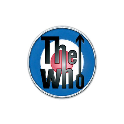 The Who Target Pin Badge
