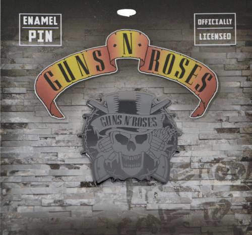 Guns N' Roses Skull Enamel Pin
