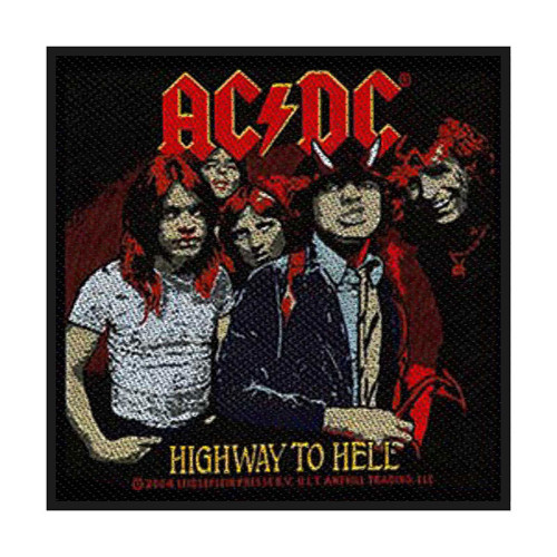 "Patch ACDC ""Highway to Hell SP1902"