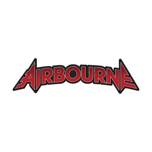 Airbourne Logo Cut-out Patch  SP2892
