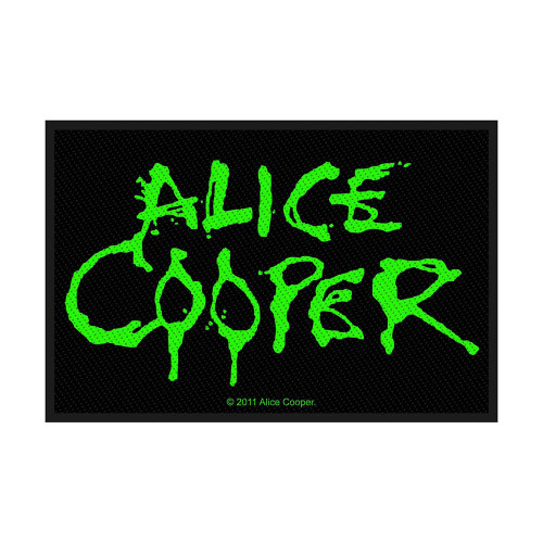 Alice Cooper Logo Patch  SP2575