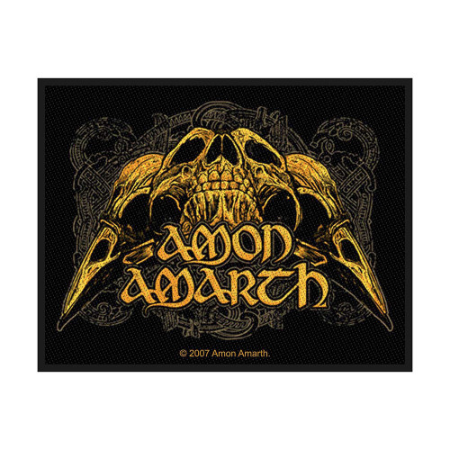 Patch crâne de corbeau Amon Amarth  SP2231