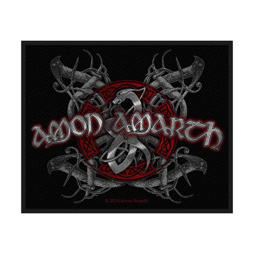 Amon Amarth Viking Dog Patch  SP2468