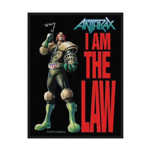 Anthrax I Am The Law Patch  SP2756