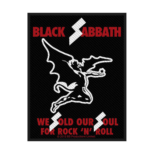 Black Sabbath Sold Our Souls Patch  SPR2709