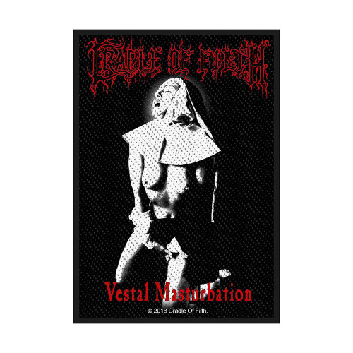 Cradle Of Filth Vestal Masturbation Patch  SP3035