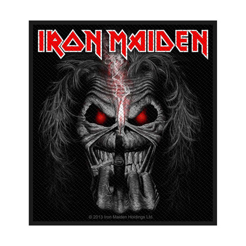 Iron Maiden Eddie Candle Finger Patch  SPR2712
