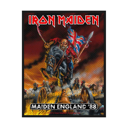 Iron Maiden England Patch  SPR2711