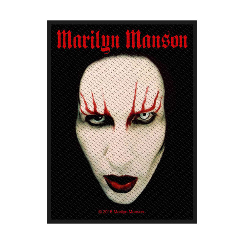 Marilyn Manson Face Patch  SP2889