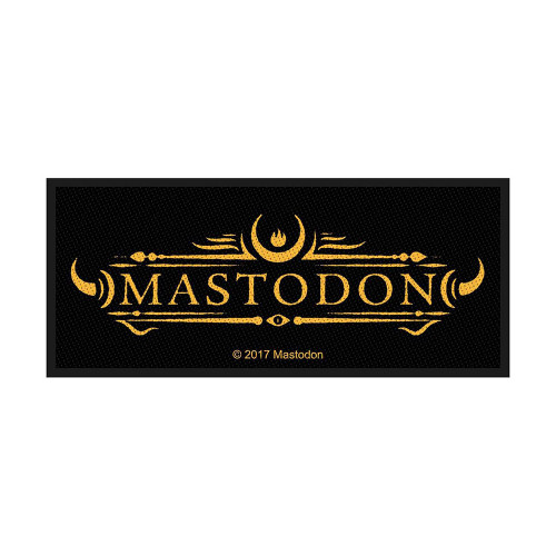 Mastodon Logo Patch  SP2924