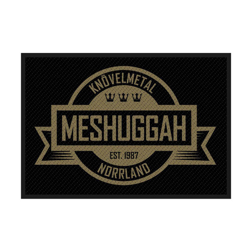 Meshuggah Crest Patch  SP2963