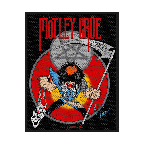 Motley Crue Allister Friend Patch  SP3008