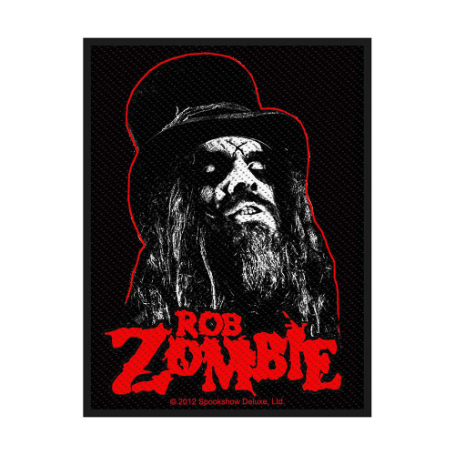Rob Zombie Portrait Patch  SP2646