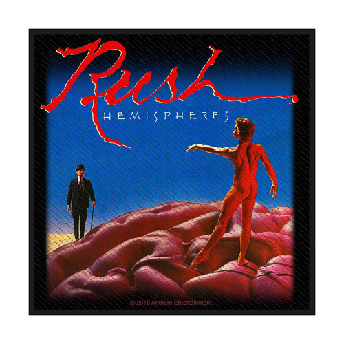 Rush Hemispheres Patch  SPR2857