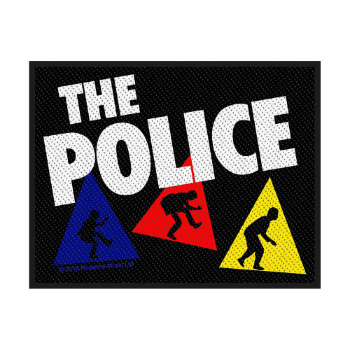 The Police Triangles Patch  SP3047