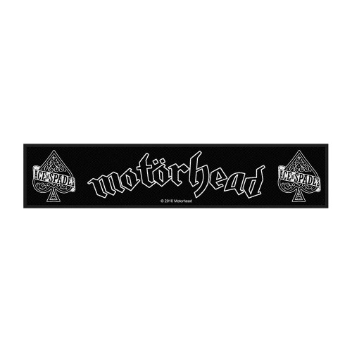 Motörhead Ace of Spades Super Strip Patch SS171