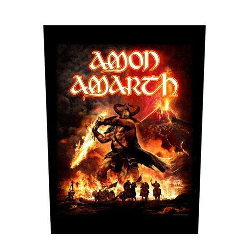 Amon Amarth Suturn Rising Back Patch  BP0908