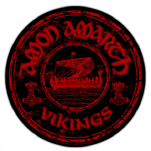 Amon Amarth Vikings Circular Back Patch  BP0852