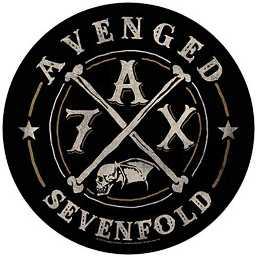 Avenged Sevenfold A7X Back Patch  BP0973