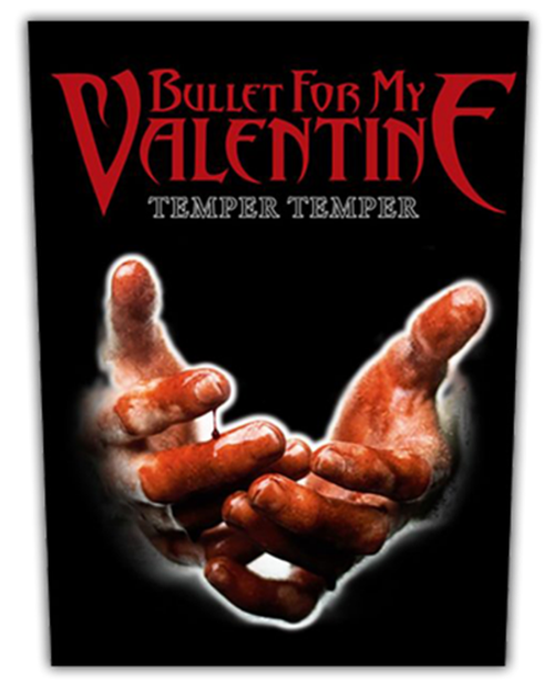 Bullet For My Valentine Temper Temper Back Patch  BP0952