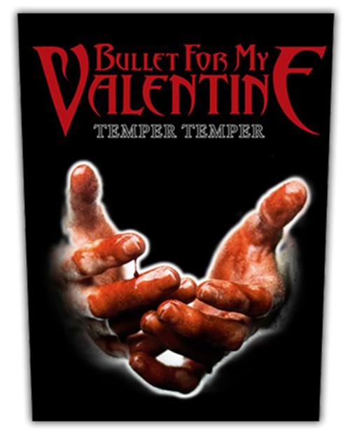 Bullet For My Valentine Temper Temper Back Patch  BP0952