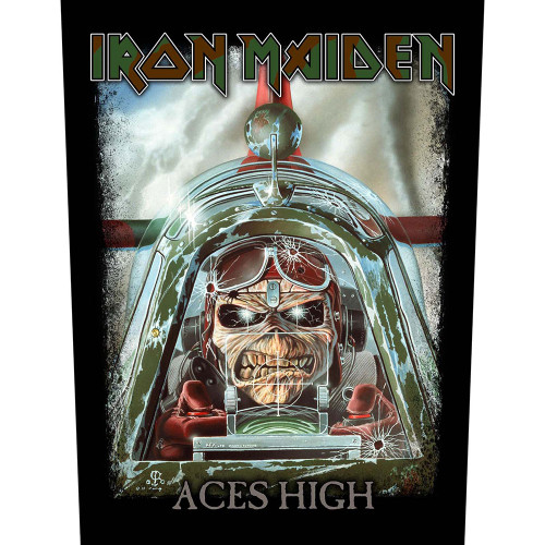 Iron Maiden Aces High Back Patch  BP1109