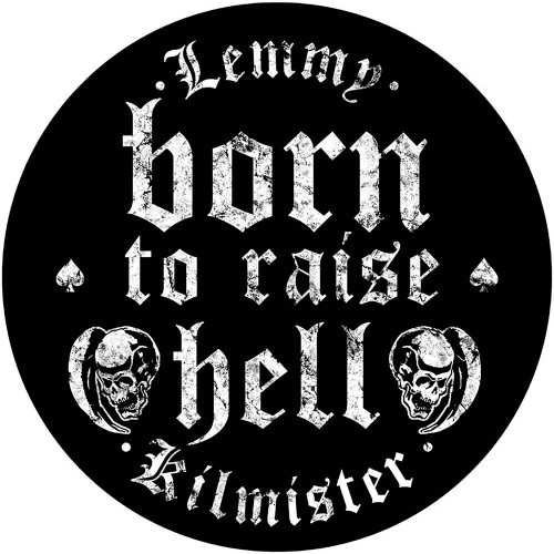Lemmy Born to Raise Hell Back Patch  BP1058