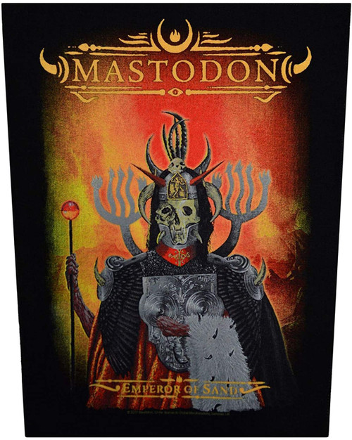 Mastodon Emperor of Sand Back Patch  BP1072