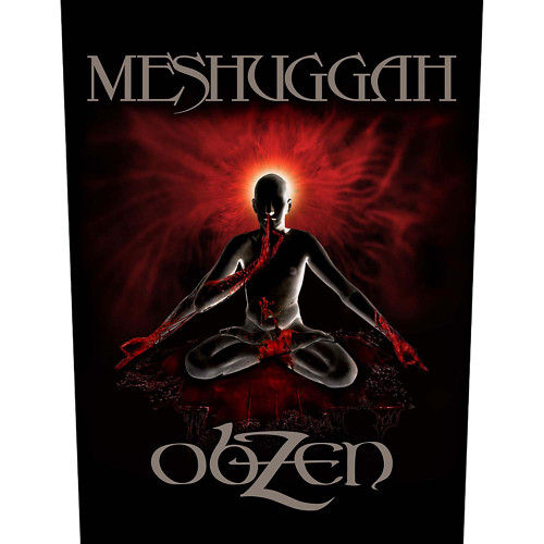 Meshuggah Obzen Back Patch  BP1084