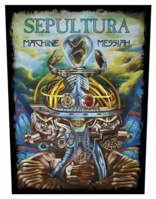 Sepultura Machine Messia Back Patch  BP1048