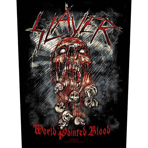Slayer World Painted Blood Back Patch  BP862