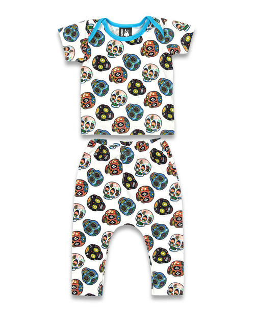 Six Bunnies Sugar Skull II Pyjama Set