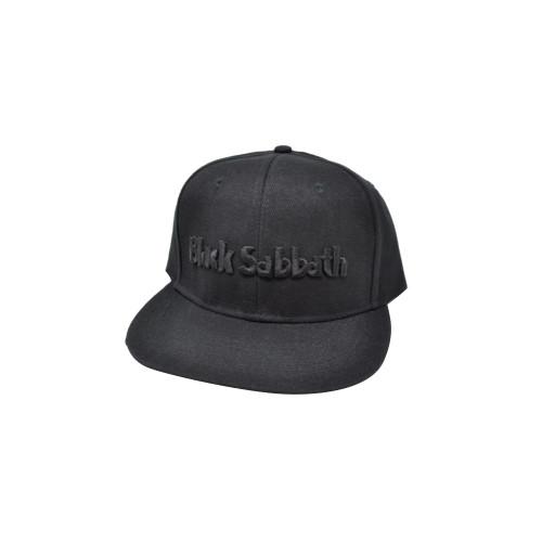 Black Sabbath Logo & Demons Snapback Cap  BS-SBCAP-01