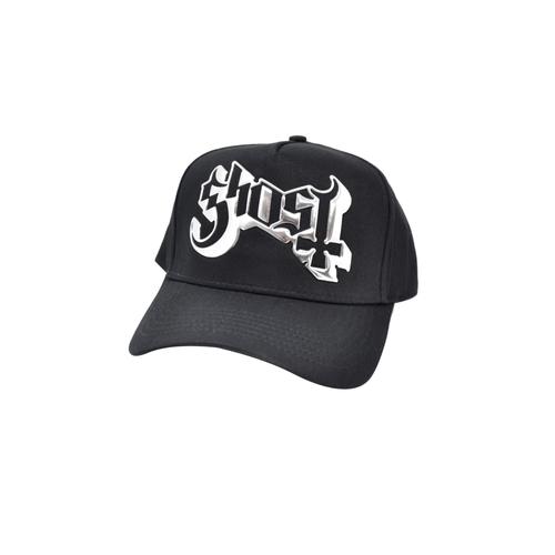 Ghost Sonic-Silver Logo Baseball Cap  GHO-SSCAP-01B