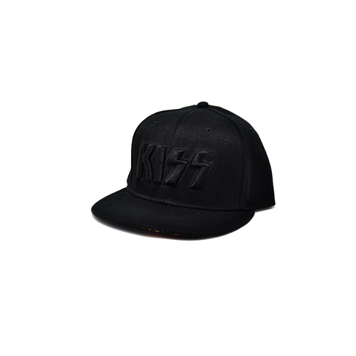 Kiss Neon Faces Snapback Cap