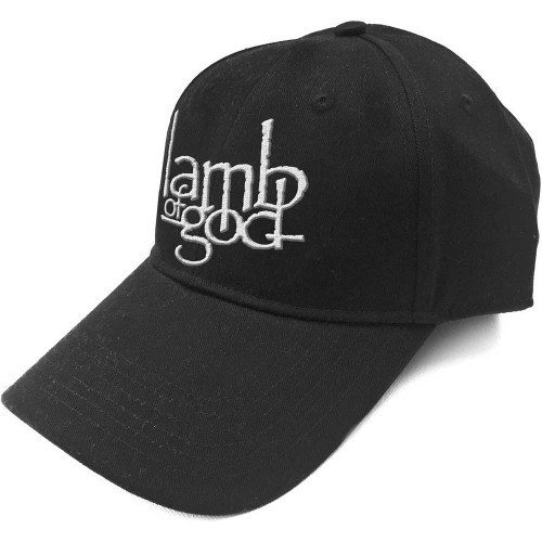 Lamb Of God Logo Baseball Cap  LAMB-CAP-01B