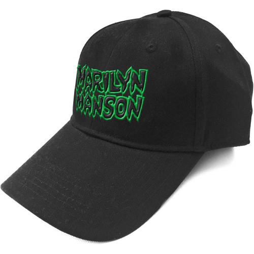 Marilyn Manson Logo Baseball Cap  MM-CAP-01B