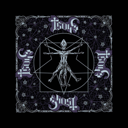 Ghost Vitruvian Ghost Bandana  B067