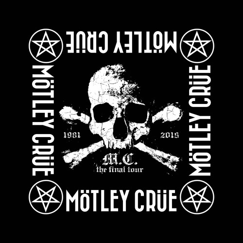 Motley Crue The Final Tour Bandana  B066