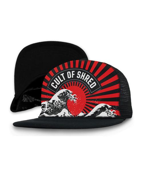 Loose Riders Rising Sun Snapback Cap  LR-AHA-19001-NCL