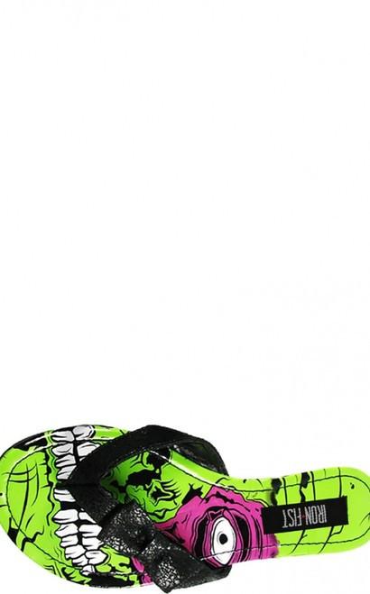 Iron Fist Zombie Stomper Sandal