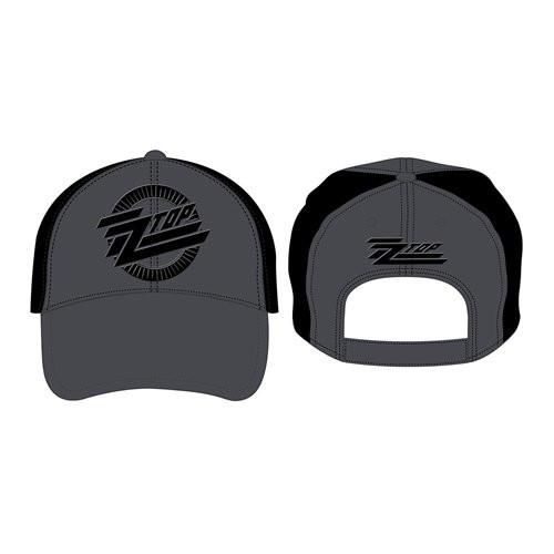 ZZ Top Circle Logo Baseball Cap  ZZ-CAP-01
