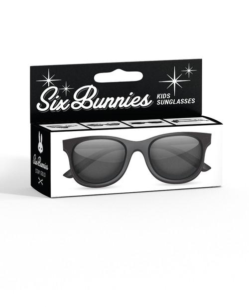 Liquor Brand Wayfarer Black Kids Sunglasses  SB-KGL-19004-BLA