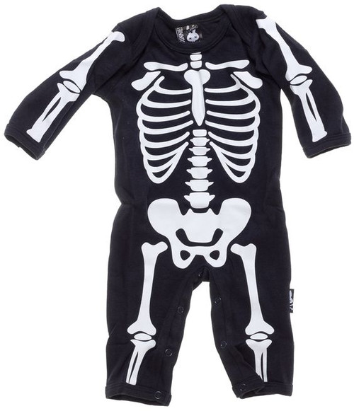 Bunnies Skeleton Playsuit