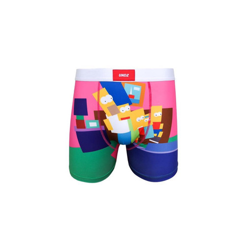 UNDZ Geometric Simpsons Kids Boxer