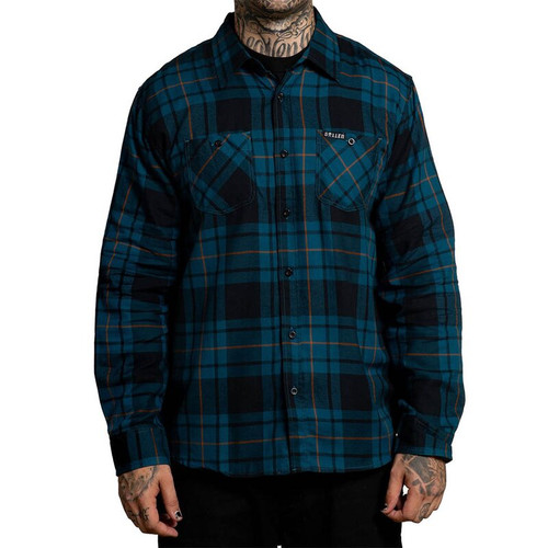 Sullen Struven Flannel Long Sleeve Shirt  SULLEN-SCM2480