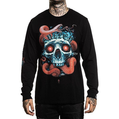 Sullen Red Scales Long Sleeve Shirt  SULLEN-SCM2717