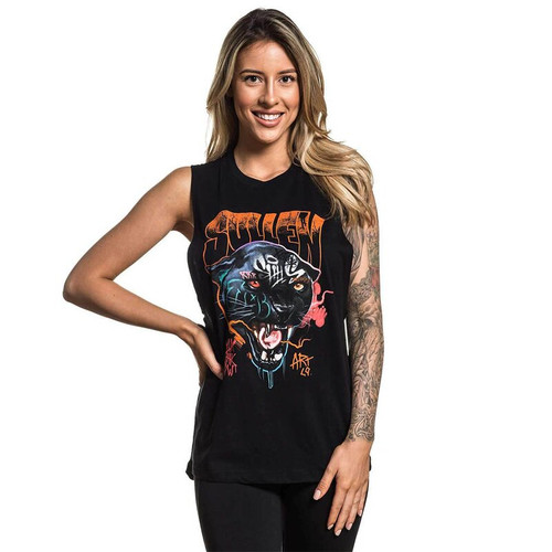 Sullen Mashkw Panther Sleeveless Tee  SULLEN-SCW2520